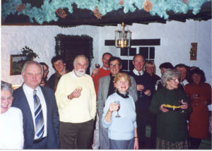Bell ringers party 2000.1