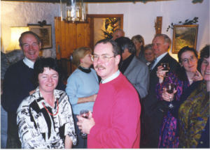 Bell ringers party 2000.3