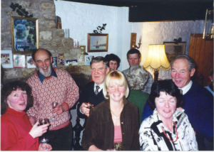 Bell ringers party 2000.4